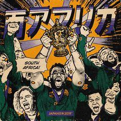 Japan Rugby World Cup イラスト on Behance Nothing But Thieves Album, Birthday Background Design, Rugby Quotes, Photoshop Projects, Rugby World Cup, Behance, Manga Comics, Japan, Cartoon