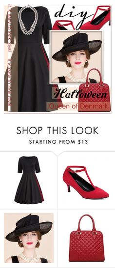 """""""DIY Halloween Costume"""" by paculi ❤ liked on Polyvore featuring vintage, halloweencostume and DIYHalloween"""