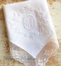 Excited to share this item from my shop: Special gift for a little girl baptism gift embroidered handkerchief baptism gift for girl personalized dated baptism custom gift bridal Disney Cruise Wedding, Cinderella Wedding, Fairytale Weddings, Disney Bride, Bridal Gifts, Wedding Gifts, Wedding Favors, Handmade Wedding, Wedding Cakes