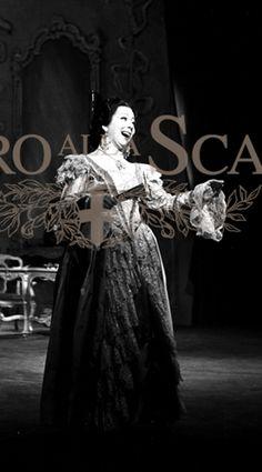 Giulietta Simionato Regia Carlo Piccinnato Teatro alla Scala di Milano 1952