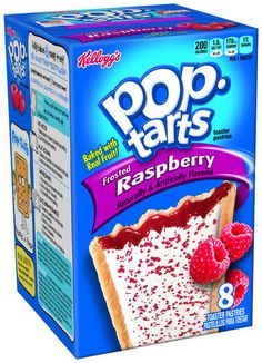 Kellogg's Pop-Tarts Frosted Raspberry Toaster Pastries - 8 ct. / 14.7 oz. at Menards