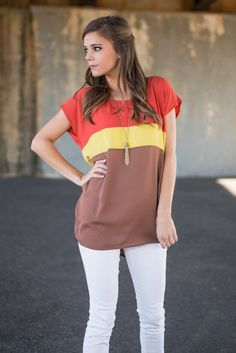 """Best Case Top, Rust"" 