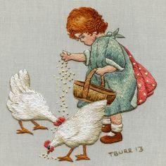 """Милые сердцу штучки: рукоделие, декор и многое другое: Вышивка гладью: """"Trish Burr (ЮАР) о своей вышивке и о себе"""""""