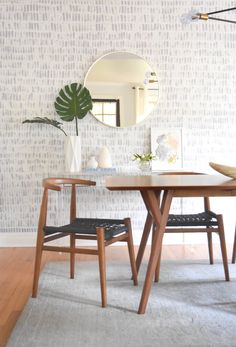 DIY Handpainted Faux Wallpaper: Easy & Beautiful, Even on Textured Walls