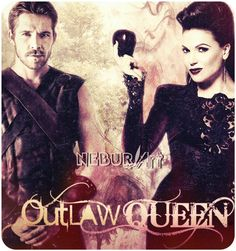 fan art images for regina from once upon a time | OutLaw Queen - Regina and Robin - Once Upon a Time by NeburArt