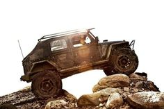 jeep unlimited, slant back top, roof rack, lifted
