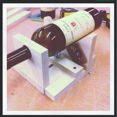 I tried my own version of a wine bottleadjustablecutting jig.                 First you need one of these glass cutter. I found mine o...