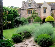 With spring now here in DC, I am reminded of a delightful garden visit last year. Cothay Manor, hidden in rural Somerset, England, dates t. Landscape Design, Garden Design, Manor Garden, Cottage Gardens, Somerset England, Famous Gardens, Longwood Gardens, Interior Garden, Interior Design