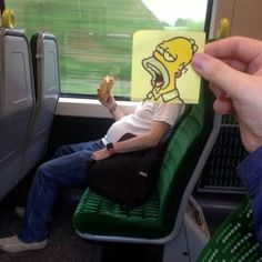 Kill boredom on a train