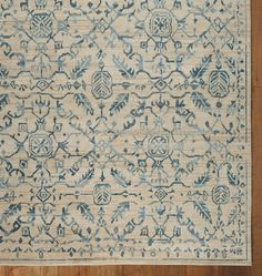 Marin Hand Knotted Rug 8x10. $1900 rejuvenation