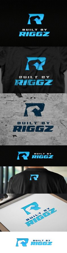 Built By Riggz personal trainer logo.