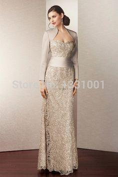 Resultado de imagem para vestido maee de noivo classico prata com jaqueta