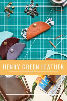 Henry Green Leather's hallmarks are simplicity and elegance. Our products are designed to be practical, useful, and compact. They are handcrafted in Brooklyn, using the finest American leathers from Chicago's world-renowned Horween Leather Company.