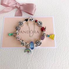 Pandora Spring Colorful Charm Bracelet