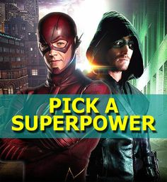 Are You More Like The Flash Or Arrow?