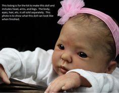 "Reborn Doll Kit ~ Baby Kimi ~ 19"" Vinyl Kit by Donna RuBert 8601 in Dolls & Bears, Dolls, Reborn | eBay"