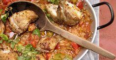 Pollo guisado «a lo español»