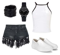 """dopičnjak style"" by mureet ❤ liked on Polyvore featuring Sans Souci, Miss Selfridge and Saachi"