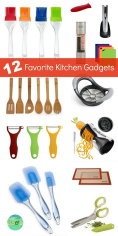12 Favorite Kitchen Gadgets to Make Your Life Easier