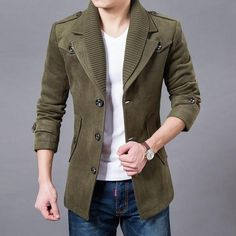 Clothing Length: Long Sleeve Length(cm): Full Material: Cotton,Polyester Closure Type: Single Breasted size Cross Shoulder(cm) Chest Width(cm) Body Length(cm) Sleeve Length(cm) M 44 104 78 62 L 45 108 80 64 XL 46 112 82 66 XXL 48 116 84 68 XXXL 50 120 86 70 4XL 52 124 87 72 5XL 54 128 88 74