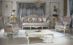 Vivaldi classic sofa set new hand made luxury set real wood fabric, paint color and size selection classic set with modern specifications Furniture, Luxury Living Room, Classic Sofa Sets, Royal Furniture, Luxury Bedroom Design, Luxury Furniture Sofa, Luxury Furniture, Interior Furniture, Luxurious Bedrooms