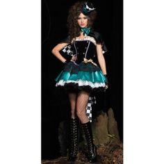 Deluxe Tea Time Mad Hatter Halloween Costume. It came yesterday!! I'm so excited!