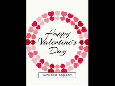 Casa POP wishes you all a very Happy Valentine's Day! Casa Pop, Chocolate Flowers, E Day, Happy Valentines Day, Hearts, Candy, Rose, Gifts, Pink