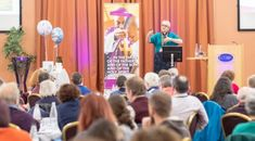 The Church of England's national baptism conference, 'Continue the Amazing Journey: Families and Faith After Baptism' was held in October 2018 at The Hayes England National, Church Of England, Conference, Presentation