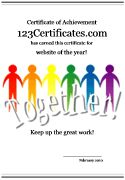 Teamwork certificates to print, teamwork certificate templates and blank certificates for kids and adults