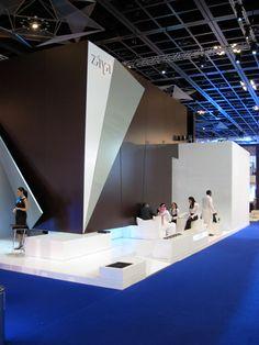 Casson Mann Exhibition space for ZAYA, dubai 2008
