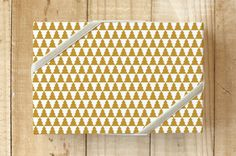 Tiled Trees Wrapping Paper