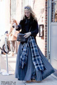 Зазеркалье - С чем носить длинные юбки осенью и зимой