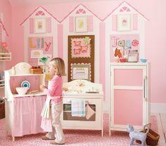 PBK Classic Kitchen Set: Refrigerator, Stove and Pie Cabinet
