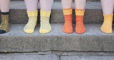 Neljä maksutonta sukkaohjetta ovat jo odotelleet julkaisua tovin. Ohjeet ovat työstyneet kahden vuoden aikana ja jääneet vähän muiden ... High Socks, Knitting, Fashion, Moda, Thigh High Socks, Tricot, Fashion Styles, Stockings, Breien