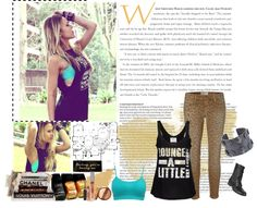 """Live A Little"" by happysmilebtr ❤ liked on Polyvore"