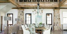 Stone Pilasters | Lakeside Leisure | Atlanta Homes & Lifestyles