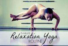 Stressed? This yoga routine will help! | Fit Bottomed Mamas