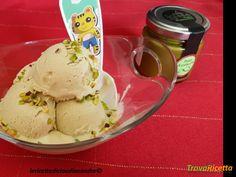 Gelato con Pasta di Pistacchio Sciara e granella al pistacchio  #ricette #food #recipes