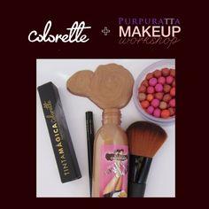 Conoce a Colorette la marca de maquillaje para nuestro workshop. www.purpuratta.com/blog