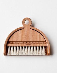 Handmade Set of table brush 03 - Bild 1 - Zum Vergrößern hier klicken!
