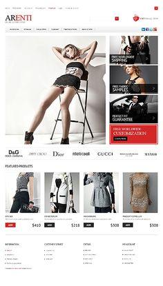 Responsive Clothes Store OpenCart Template E-commerce Templates, OpenCart Templates, Fashion & Beauty, Fashion Templates, Fashion Store Templates Web Design Software, Ecommerce Website Design, Web Design Company, Design Services, Flyer Design, Logo Design, Fashion Website Design, Dior, Design Web