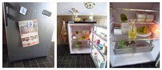 Fabulously Small: makeover fridge