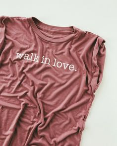 Dusty rose =  #walkinlove Closet Colors, Walk In Love, Christian Shirts, Cute Tshirts, Style Me, Autumn Fashion, Cute Outfits, Dusty Rose, Plant Bugs