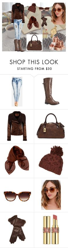 """Untitled #13"" by melisa-fehric ❤ liked on Polyvore featuring City Chic, Avenue, Lauren Ralph Lauren, Dolce&Gabbana, Topshop, Barton Perreira, Quay, Maison Fabre, Yves Saint Laurent and Lacoste"