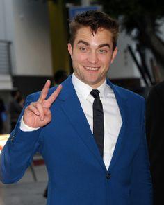 HQ pics of Robert Pattinson at the Premiere of The Rover in LA