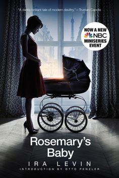 Rosemary's baby - A book review. So creepy, perfect for October/Halloween! The movie is kind of creepy and weird, too! Read my full review: http://mumx3x.blogspot.co.uk