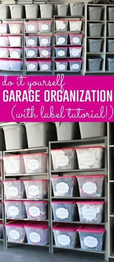Creative Hacks Tips For Garage Storage And Organizations 112