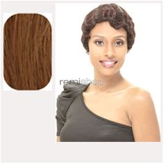 Janet Premium Synthetic Fiber Wigs Mommy  - Color 30 - Synthetic Regular Wig