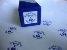 Mashallah Well Done Stamp (blue)   The Muslim Sticker Company