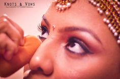 There is no spectacle on earth more appealing than that of a beautiful woman getting her final touches before marriage. #knots and vows #wedding photography #wedding photographer mumbai #mumbai wedding photographer